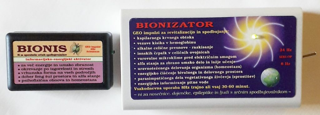 Bionis in Bionizator z geo impulzi proti koronavirusu