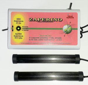 Zapper Zapper Zaper Zaperino frekvenco, ki uniči parazite, viruse in bakterije