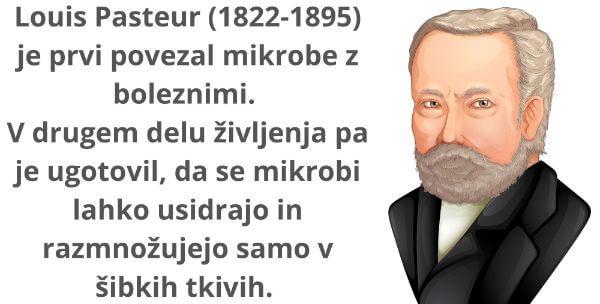 Louis Pasteur mikrobi povzročajo bolezni