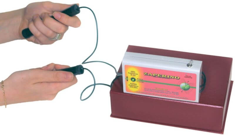 MIKROBI podležejo Zapper Zaper Zaperino frekvencam