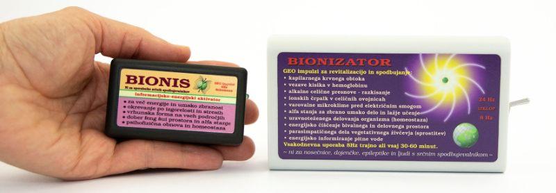 Paracetamol in naravno lajšanje bolečin z geo impulzi Bionis in Bionizator
